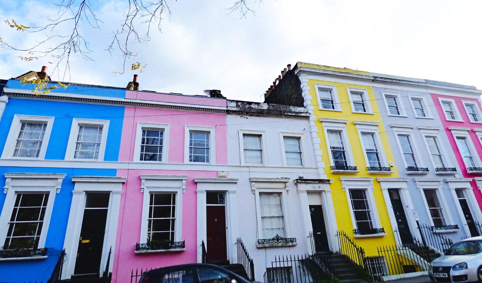 fachadas-de-película-Notting-Hill-la-Paloma-cerámicas-ladrillos-colores