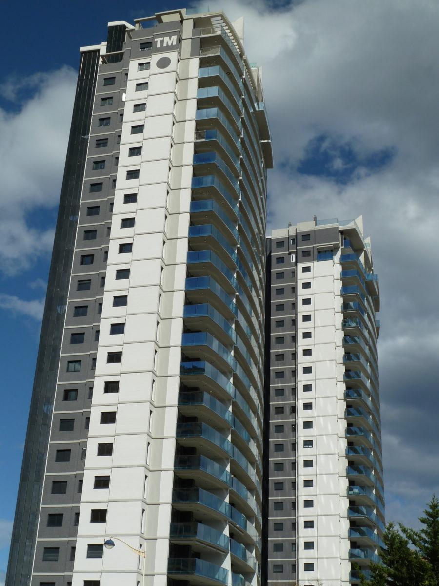 Ladrillo esmaltado Edificio Benidorm