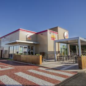 Paneles Termoklinker en la construcción modular de Burger King