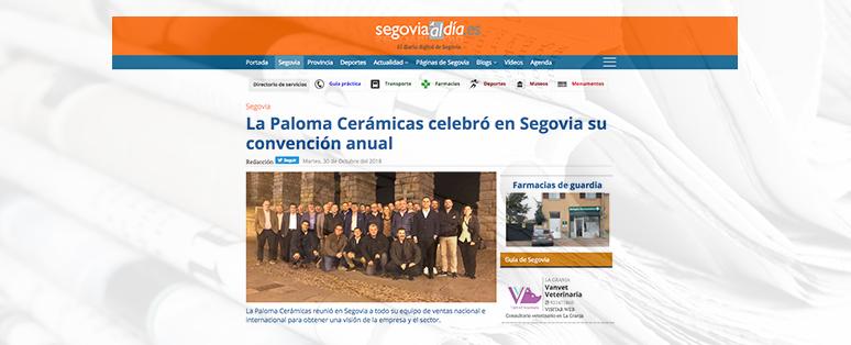 Convención anual de La Paloma Cerámicas