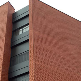 Frontiss Brick fachada ventilada