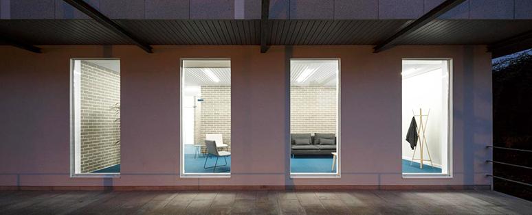 La Paloma Cerámicas y el ladrillo en espacios interiores