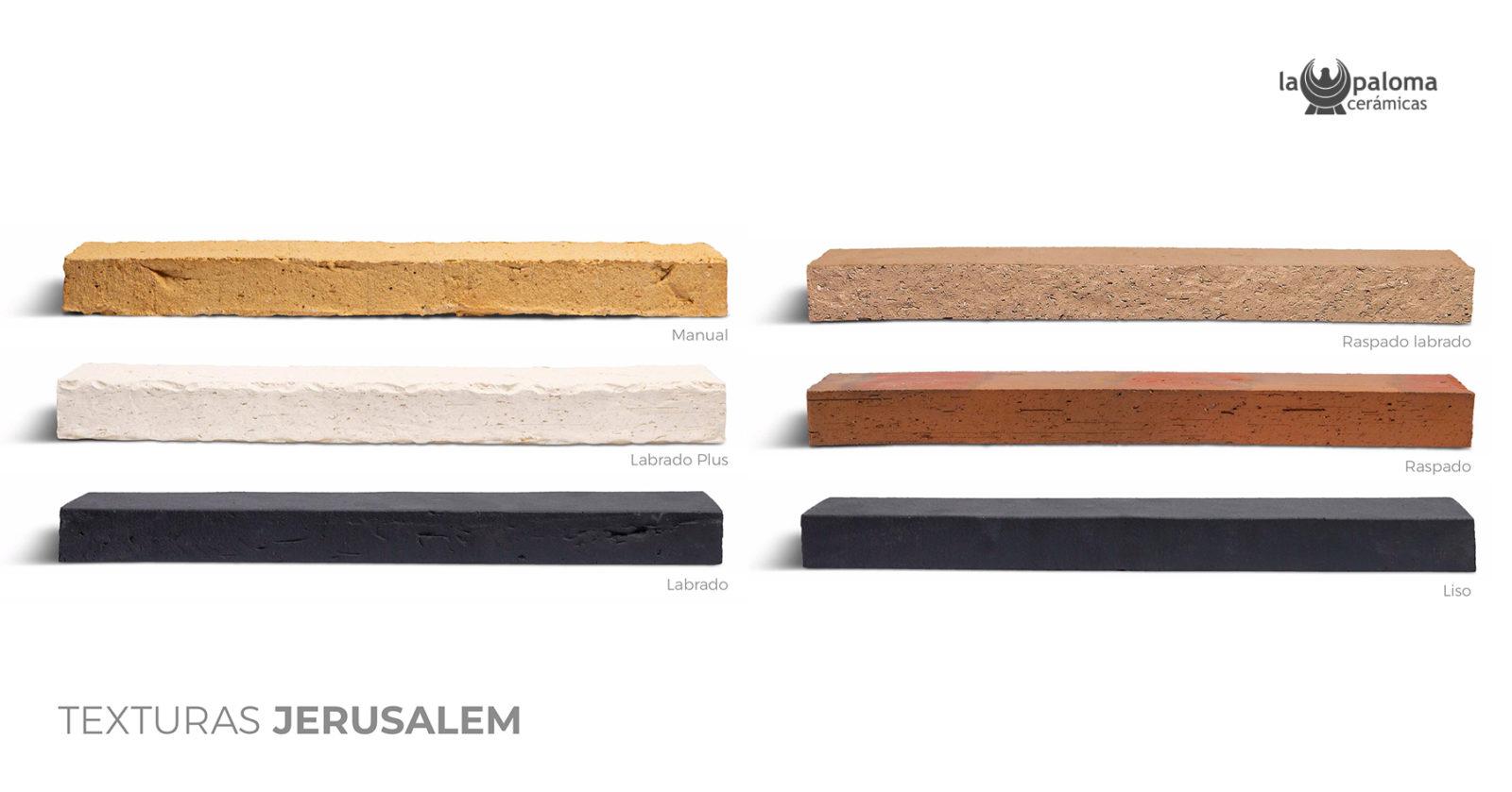 Jerusalem Line, la gama de ladrillos artesanales de alta calidad